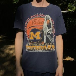 Other - Vintage 1992 Final Four Michigan Wolverines Shirt